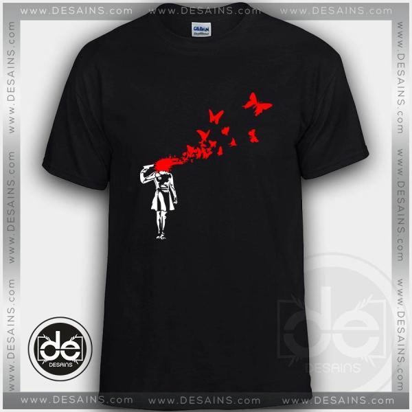 Buy Tshirt Banksy Stencil Street Art Tshirt Womens Tshirt Mens Size S-3XL