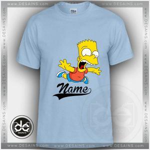 Buy Tshirt Bart Simpson Tshirt Kids and Adult Tshirt Custom