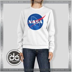 Buy Sweatshirt Nasa Space Center Sweater Womens and Sweater Mens