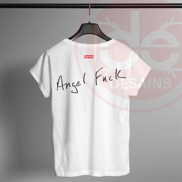 Tshirt Supreme Angel Fuck Tshirt mens Tshirt womens Tees Size S-3XL