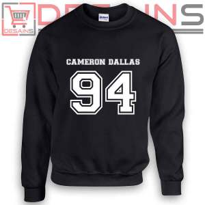 Buy Sweatshirt Cameron Dallas 94 Sweater Womens and Sweater Mens