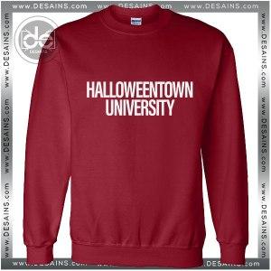 Sweatshirt Halloween Town University Sweater Womens Sweater Mens