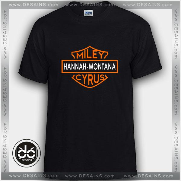 Buy Tshirt Miley Cyrus Hannah Montana Tshirt mens Tshirt womens Tees Size S-3XL