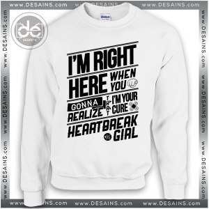 Sweatshirt 5SOS Heartbreak Girl Sweater Womens and Sweater Mens