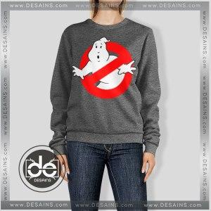 Sweatshirt Ghostbusters Ghost Logo Sweater Womens Sweater Mens