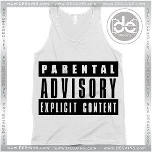 Tank Top Parental Advisory Explicit Content Tank top Womens and Mens