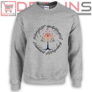Sweatshirt Tree The Lord of The Ring Sweater Womens Sweater Mens