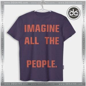 Buy Tshirt Imagine John Lennon Tshirt mens Tshirt womens Tees size S-3XL