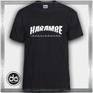 Buy Tshirt Thrasher Rip Harambe Tshirt Womens Tshirt Mens Tees Size S-3XL