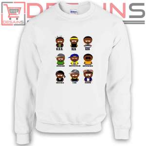 Sweatshirt Wu tang Clan Characters Sweater Womens and Sweater Mens