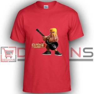 Buy Tshirt Clash Of Clans Barbarian Rock Tshirt Kids Youth and Adult Tshirt Custom