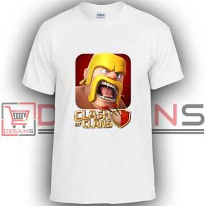 Buy Tshirt Clash Of Clans Barbarian War Tshirt Kids Youth and Adult Tshirt Custom