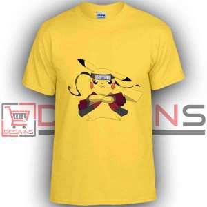 Buy Tshirt Pokemon Pikachu Naruto Tshirt Kids and Adult Tshirt Custom