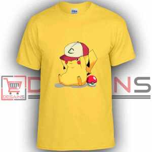 Buy Tshirt Pokemon Real Pikachu Tshirt Kids and Adult Tshirt Custom