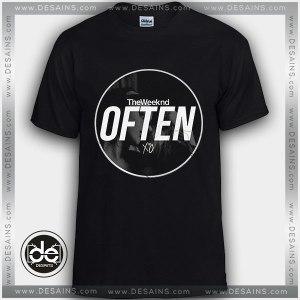 Buy Tshirt The Weeknd Often NSFW Tshirt Womens Tshirt Mens Tees Size S-3XL Black