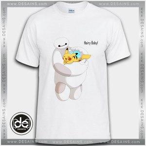 Buy Tshirt Big Hero 6 Baymax baby Pikachu Tshirt Kids Youth and Adult Tshirt Custom