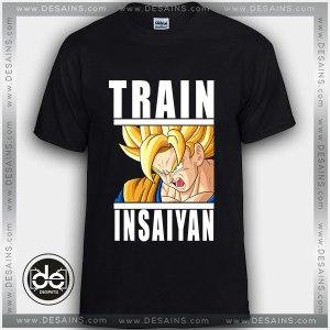 Buy Tshirt Dragon Ball Train Insaiyan Tshirt Womens Tshirt Mens Tees Size S-3XL