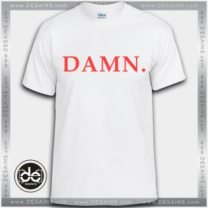 Buy Tshirt Damn Kendrick Lamar Tshirt Womens Tshirt Mens Tees Size S-3XL