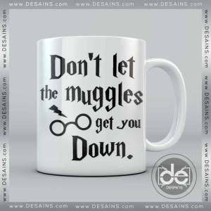 Buy Mug Harry Potter Don't Let the muggles get you down Custom Coffee Mug