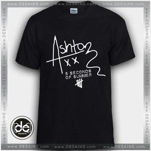 Buy Tshirt Ashton Irwin Signature 5SOS Tshirt Print Womens Mens Size S-3XL