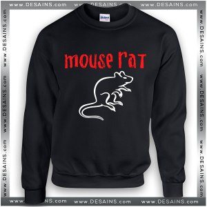 Cheap Graphic Sweatshirt Mouse Rat Band Logo On Sale