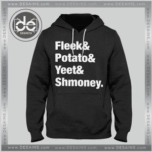Cheap Hoodie Fleek Potato Yeet Shmoney Tee Shirt Dress