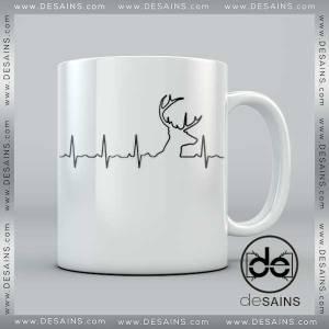 Cheap Coffee Mugs Deer Hunting Heartbeat on Sale