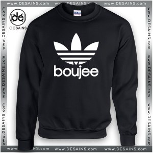 Cheap Graphic Sweatshirt Boujee Apparel Logo Sweater Unisex