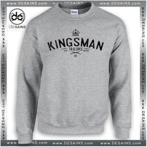 Cheap Graphic Sweatshirt Kingsman Tailor Crewneck on Sale