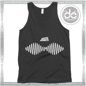 Cheap Graphic Tank Top Arctic Monkeys Sound Wave Logo