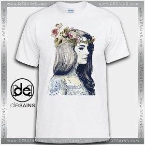 Cheap Graphic Tee Shirts Lana Del Rey Art Tshirt On Sale