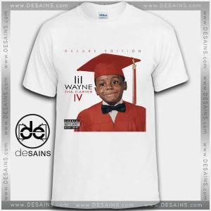 Cheap Graphic Tee Shirts Lil Wayne Tha Carter IV Tshirt on Sale