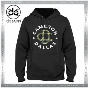 Cheap Graphic Hoodie Cameron Dallas Army Logo on Sale