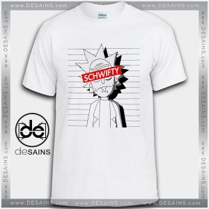 Cheap Graphic Tee Shirts Rick and Morty Schwifty Obey Tshirt Funny