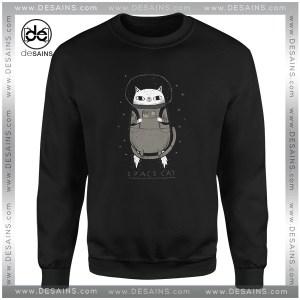 Buy Sweatshirt Space X Cat Funny
