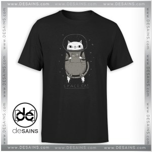 Buy Tshirt Space X Cat Funny
