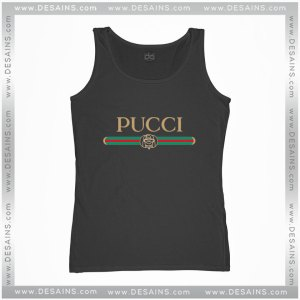 Cheap Tank Top Pucci Gucci Funny Logo