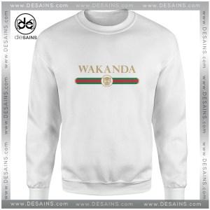 Sweatshirt Wakanda Logo Gucci Black Panther