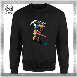 Cheap Graphic Sweatshirt Infinity War Thanos Guitar