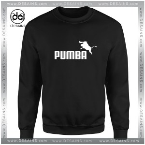 Cheap Graphic Sweatshirt Pumba Logo Puma Parody