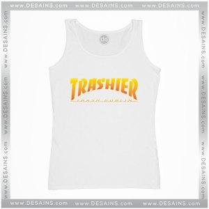 Cheap Tank Top Thrasher Skateboarding Trash Goblin