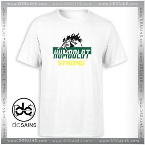 T-Shirt Humboldt Broncos Strong Logo Tee Shirt Size S-3XL