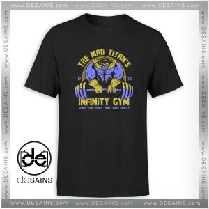 T-Shirt Infinity Gym Thanos Avengers Infinity War Tee Shirt Size S-3XL