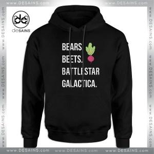 Buy Hoodie The Office Bears Beets Battlestar Galactica,hoodies, cheap hoodies Bears Beets Battlestar Galactica, hoodies for women, hoodies for men, sweater hoodie The Office American television series