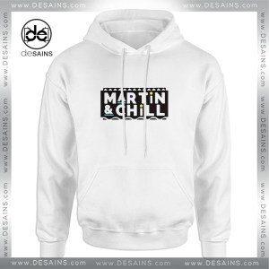 Cheap Graphic Hoodie Martin And Chill Logo Clothing Merch
