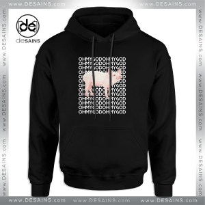 Cheap Graphic Hoodie Oh My God Pig Funny