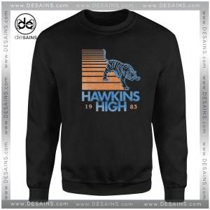 Hawkins High Stranger Things Sweatshirt Netflix Tv Series Sweaters