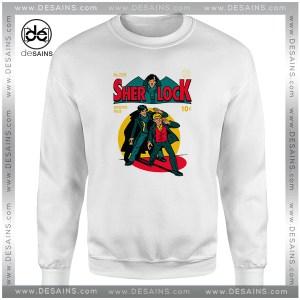 Cheap Graphic Sweatshirt Sherlock Holmes Comics Poster