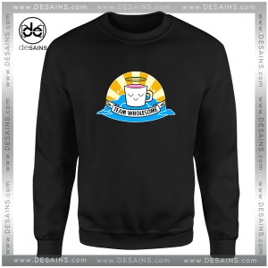 Cheap Graphic Sweatshirt Team Wholesome Drawfee fan base