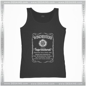 Cheap Graphic Tank Top Winchester Family Supernatural Quality